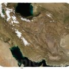 mouse pad IRAN SATELLITE MAP image mouse pad