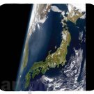 mouse pad JAPAN FROM SPACE satellite map image mous pad