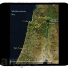 mouse pad TRAIL OF JESUS CHRIST israel jerusalem judea