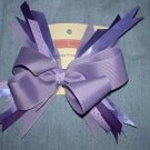 Purple & Lavender Flash Bow