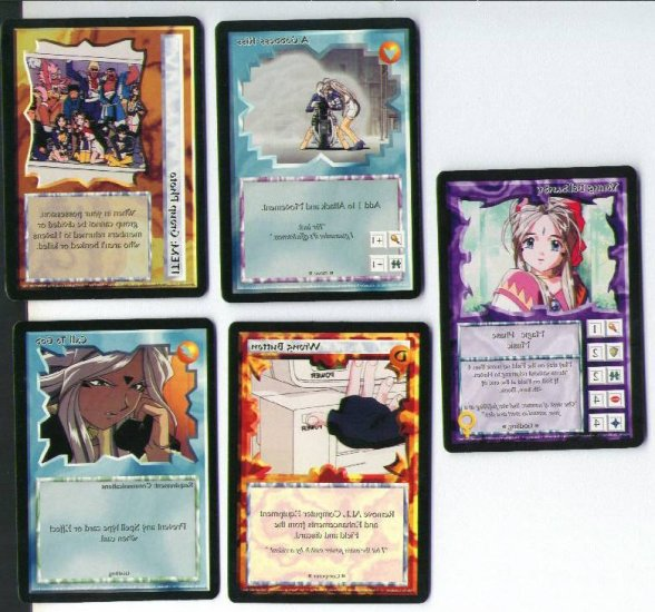 Ani Mayhem OH MY GODDESS ccg 5/5