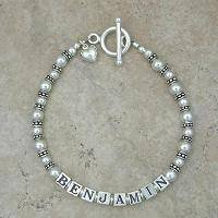 Mommy Bracelet: Decorative Pearl