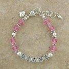 Baby Bracelet: Pretty in Pink