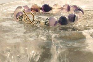 Violet Fusion   Bracelet