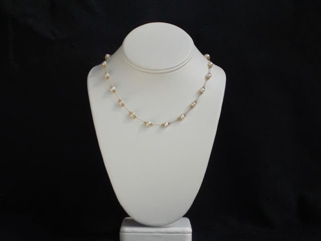 Knit One, Pearl Two   Necklace