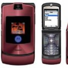 Motorola V3i Razr Maroon Mobile Cellular Phone (unlocked)