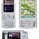 Nokia N95 Mobile Cellular Phone Silver/plum (unlocked)