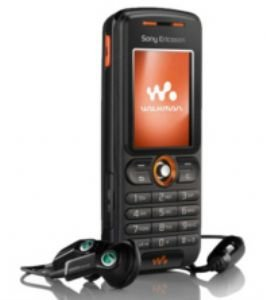 Sony Ericsson W200i (black) Triband Gsm Phone (unlocked)