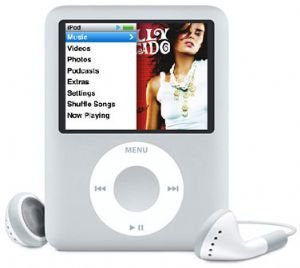 Apple 4gb Ipod Nano � Silver