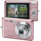 Casio 7.2 Mp Slim Digital Camera Pnk