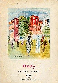 RAOUL DUFY Artist Modern Art AT THE RACES Horses Racetracks Landscapes Booklet