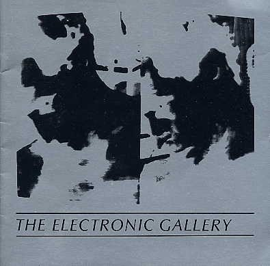 ELECTRONIC ART   Media Age VIDEO Computer Photography Exhibition Catalog BOOK