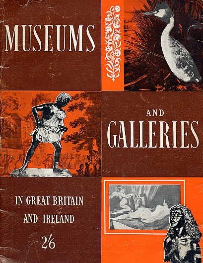 British Museums  ENGLAND Ireland ART History Military HISTORIC SITES Gallery Directory BOOK