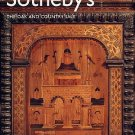 Furniture Tapestry  Sotheby's Auction Catalog OAK and COUNTRY Sale Woodwork Weaving