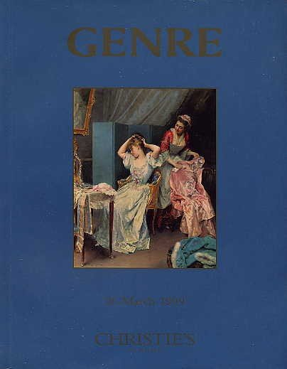 GENRE Nineteenth Century Continental Pictures ART Christie's March 1999