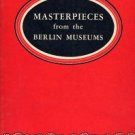 BERLIN MUSEUM MASTERPIECES book Nazi Germany Confiscated ART World War II