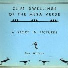 MESA VERDE CLIFF DWELLINGS Native American Indian Art Architecture Pueblos Anasazi