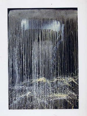 Pat Steir ART BOOK Contemporary American Painting RHYTHM SILENCE Abstract Color Field Expressionism