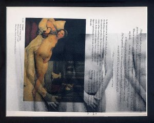SOLD . . .ORIGINAL ART Work Digital Photography Male Nudes Gay Coloured