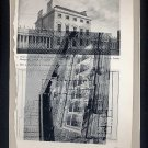 ORIGINAL ART St. Louis Architecture  Found Object Surrealism Photography Shadow