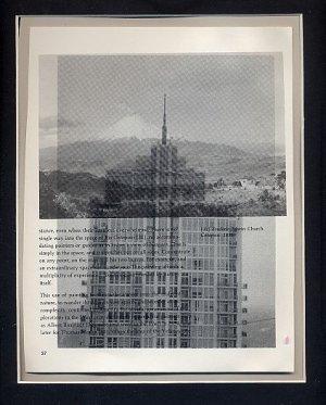 Original ART Found Object Photography St. Louis Surrealism Neo Deco Architecture Landscape