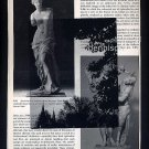 Fetching Home a Bride ORIGINAL ART Found Object Photography Nude Faun Greek Sculpture