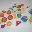 Vintage Fisher Price Stove Cook Kitchen Toys