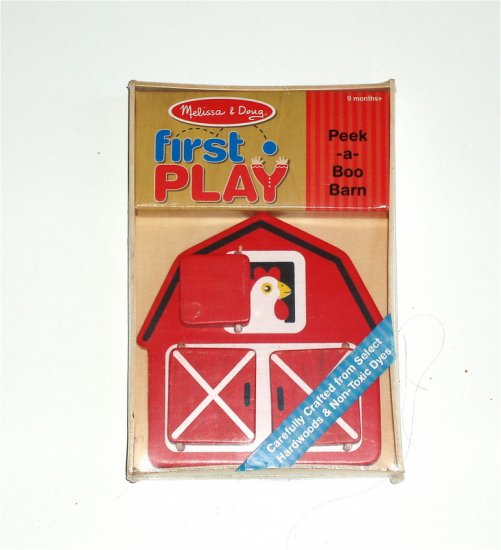 Melissa and Doug First Play Baby Infant Farm toy NIB