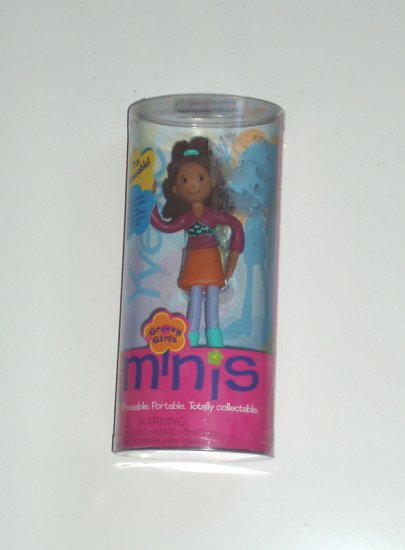 Groovy Girls Minis Doll Yvette Girl Play African American