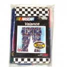 NEW Nascar Window Curtain Valance Boy Race Fan