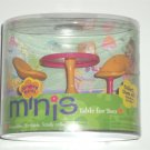 Groovy Girls Mini Table for Two Chairs NIB