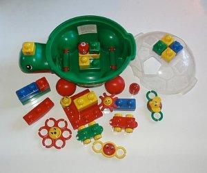 Lego Duplo Primo Baby Toddler Blocks Turtle Lot EUC