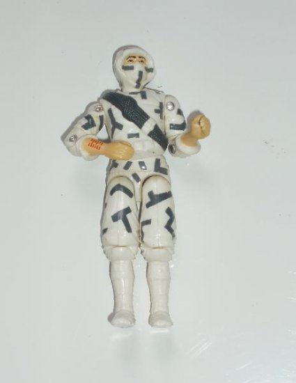G.I. Joe Snake Eyes 6 inch 1980s minty