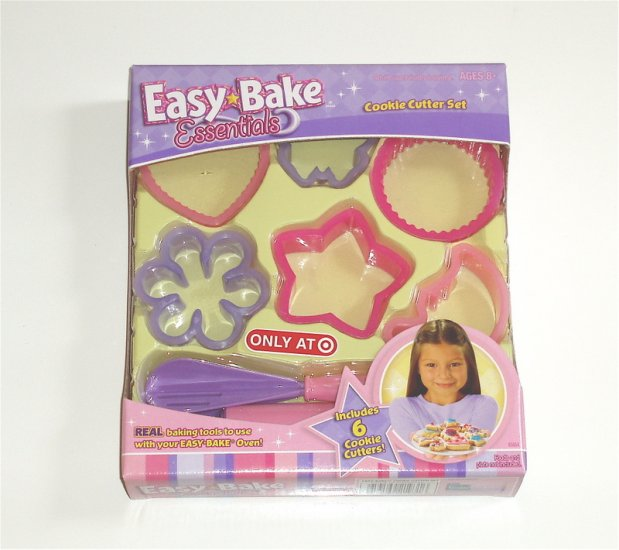 Easy Bake Oven Cookie Cutter Set Target Exclusive