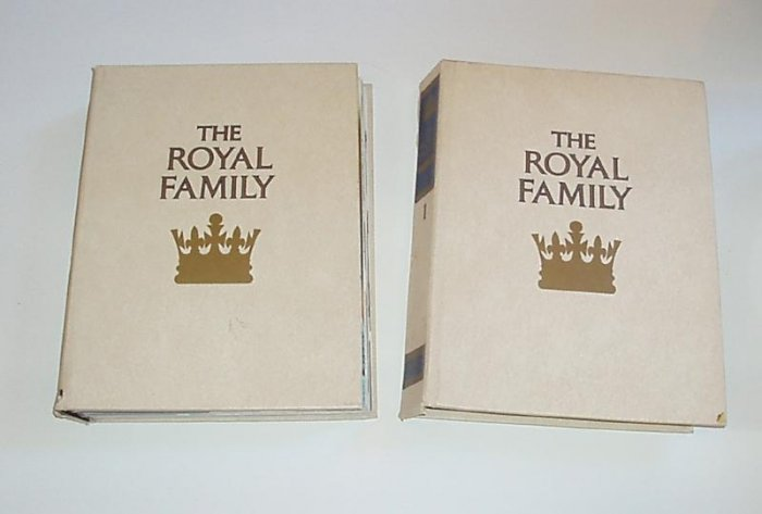 Orbis The Royal Family Book England Collect 1984