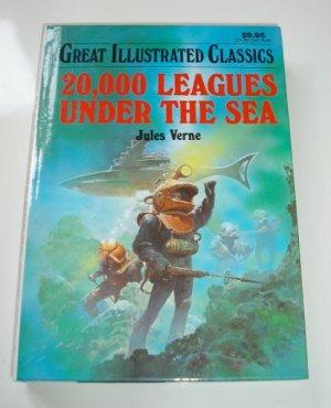 20,000 Leauges Under the Sea Jules Verne HB Book Illustrated