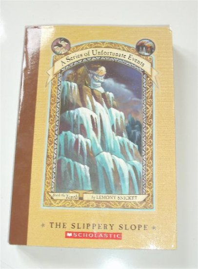 Series of Unfortunate Events Slipper Slope Tenth Snicket