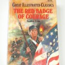 The red Badge of Courage Illustrated Kids Book HB School