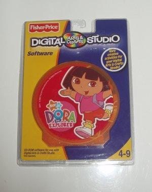 Fisher Price Digital Arts Crafts Studio Software Dora the Explorer
