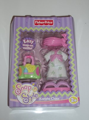 Fisher Price Snap n Style Karate Class Outfit