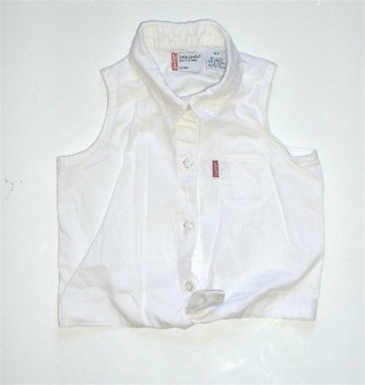 Little levis Toddler Girl Shirt 3T EUC