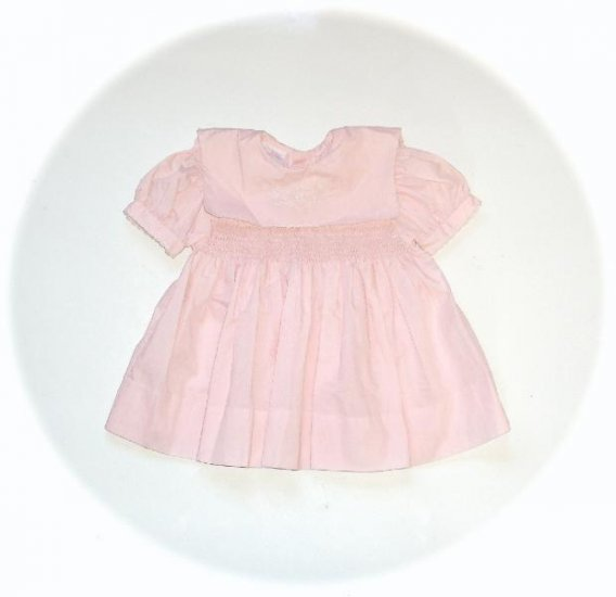 Baby Girl Pink Smocked Dress Bambellini 62 6m