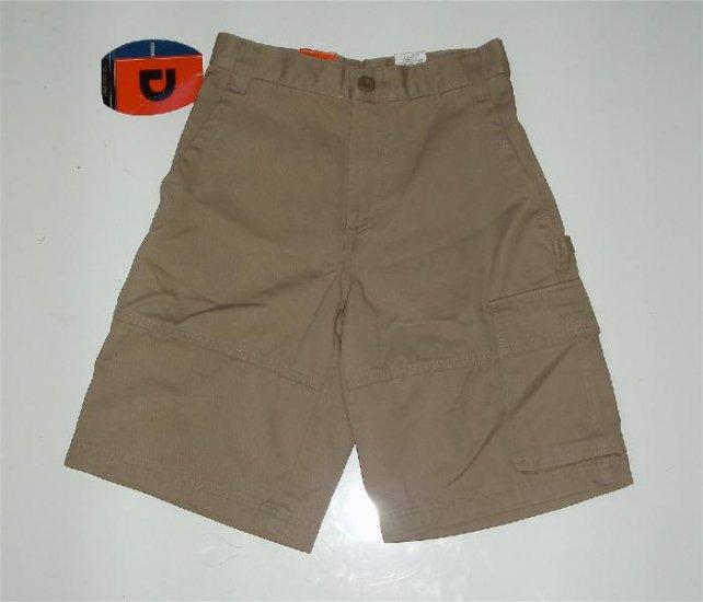 Boys DOCKERS Cargo Kacki Shorts size 8/10 NWT
