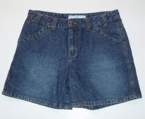 Girl Arizona Denim Jean Shorts 12 1/2 Plus size NWOT