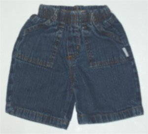 Bon Bebe Infant Baby Boy denim Shorts 24 m EUC