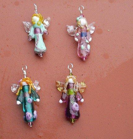 Lampwork Fairy Pendant (1)