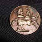 "Vintage Zodiac Sagittarius Button 1 1/4"""