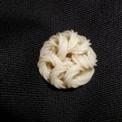 Vintage Extruded Celluloid Noodle Button