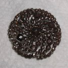 Cut Steel Riveted Pinwheel Button 7/8""