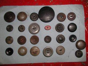 Antique 25 Composition Shellac Button Collection